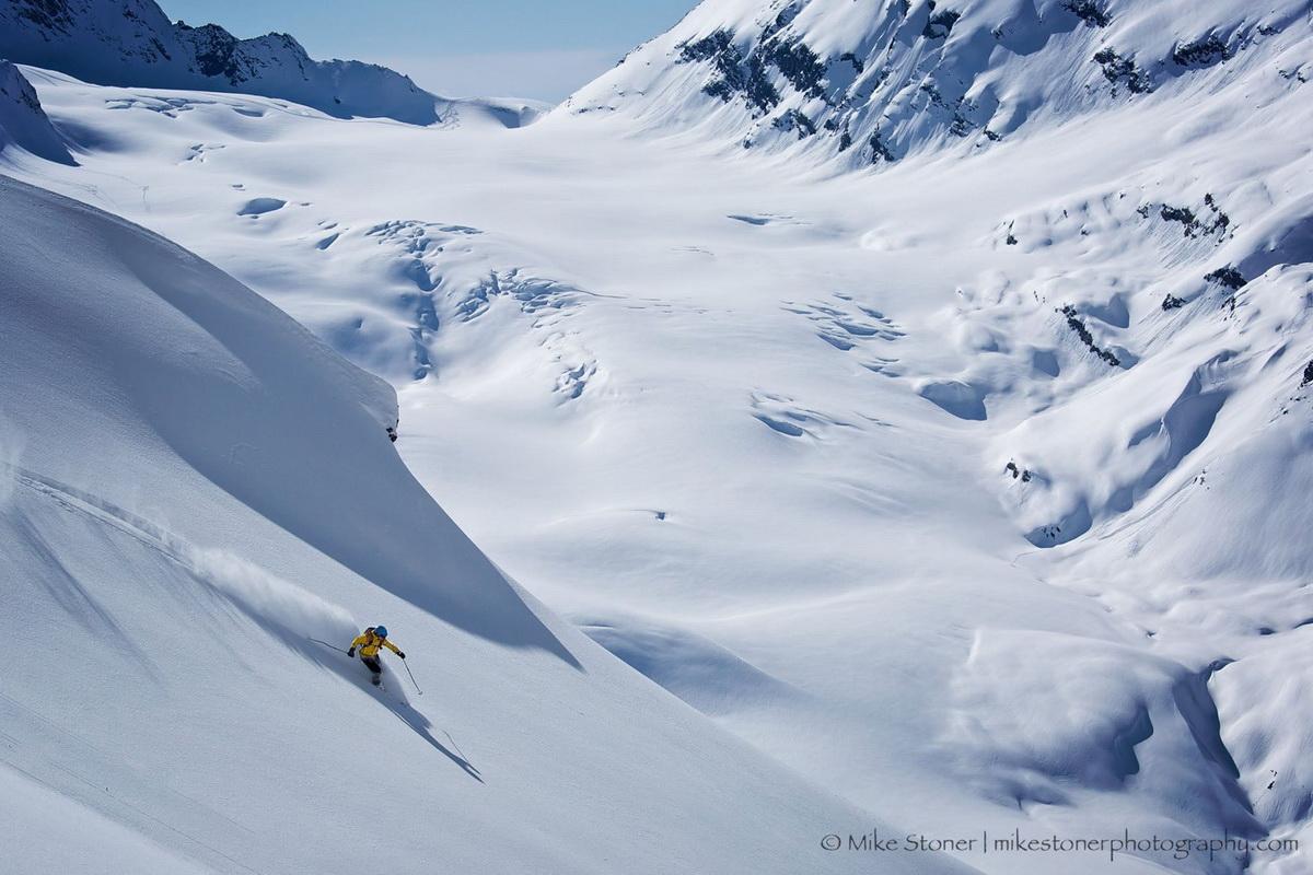 Хелиски на Аляске