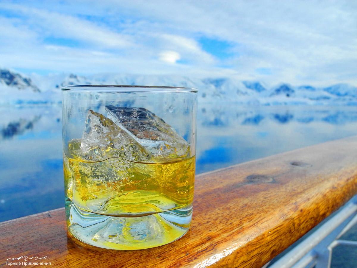 Виски с трехтысячелетним льдом. Почувствуйте вкус истории!