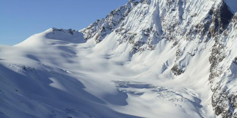 Ледники Сванетского хребта